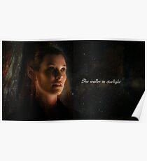 She Walks In Starlight Poster