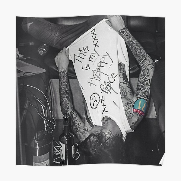 Mgk Happy Face Poster