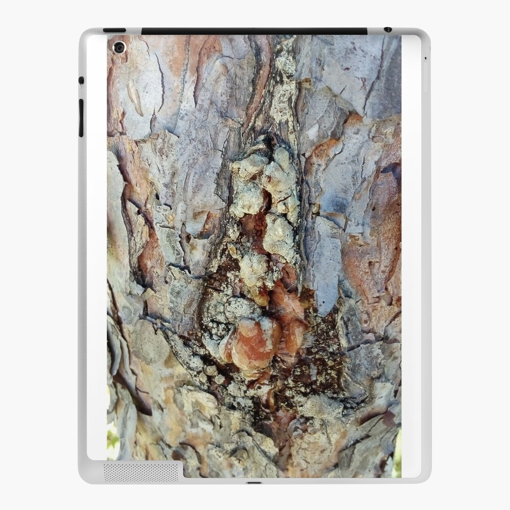 log up close 4 iPad Case & Skin