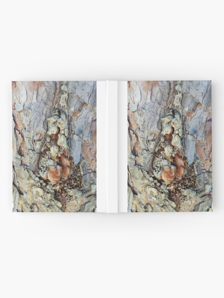 Alternate view of log up close 4 Hardcover Journal