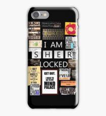 _S_H_E_R LOCKED iPhone Case/Skin