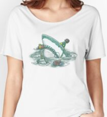 Happy Birthday Shark Women's Relaxed Fit T-Shirt