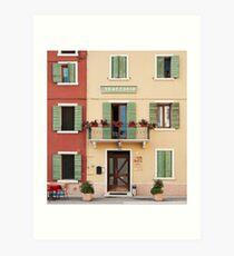 Trattoria Caprini Art Print