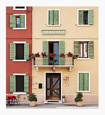 Trattoria Caprini Photographic Print