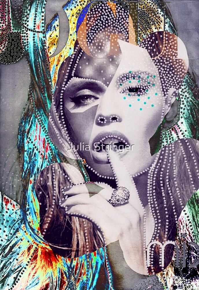 Pearl Dot Woman by Julia Stringer