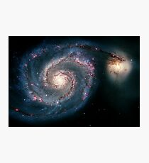 Illuminati Eye: Whirlpool Galaxy V2 | New Illuminati Photographic Print