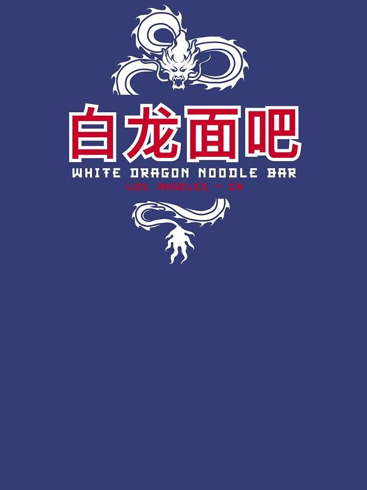 White Dragon Noodle Bar by hoboballan