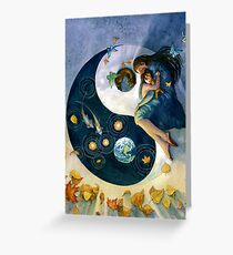 Earth in the Balance Greeting Card