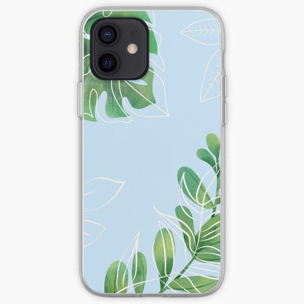 Tropical Leaf  iPhone Soft Case