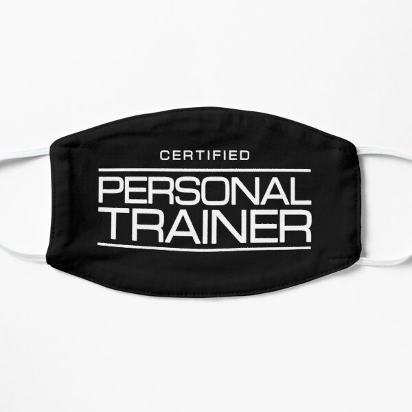 Fitness Gift for Health Coach - Certified Personal Trainer Mask
