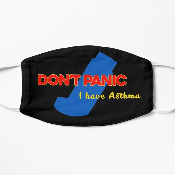 Don't Panic - I have Asthma Alt Mask
