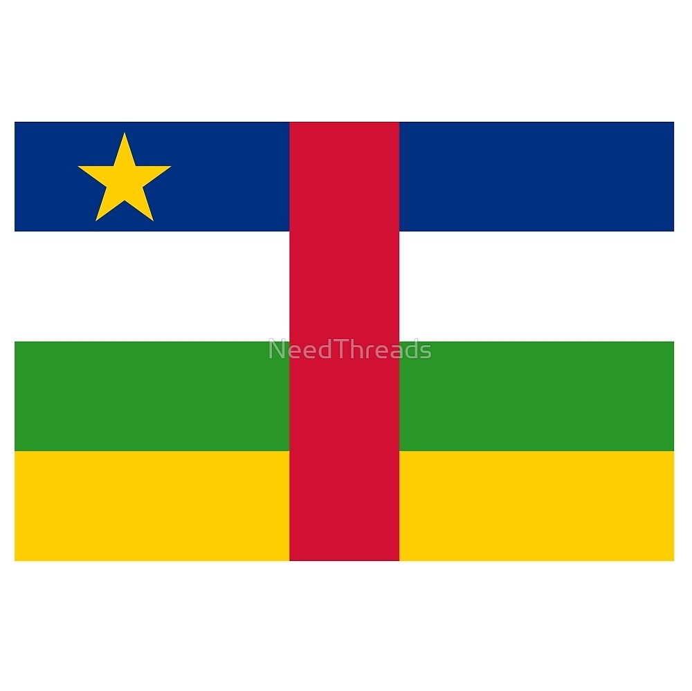 Central African Republic Flag by NeedThreads