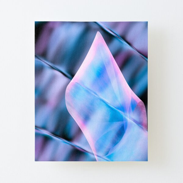Elegant Touch Canvas Mounted Print