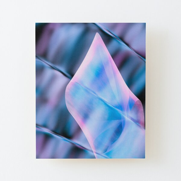 Elegant Touch Wood Mounted Print