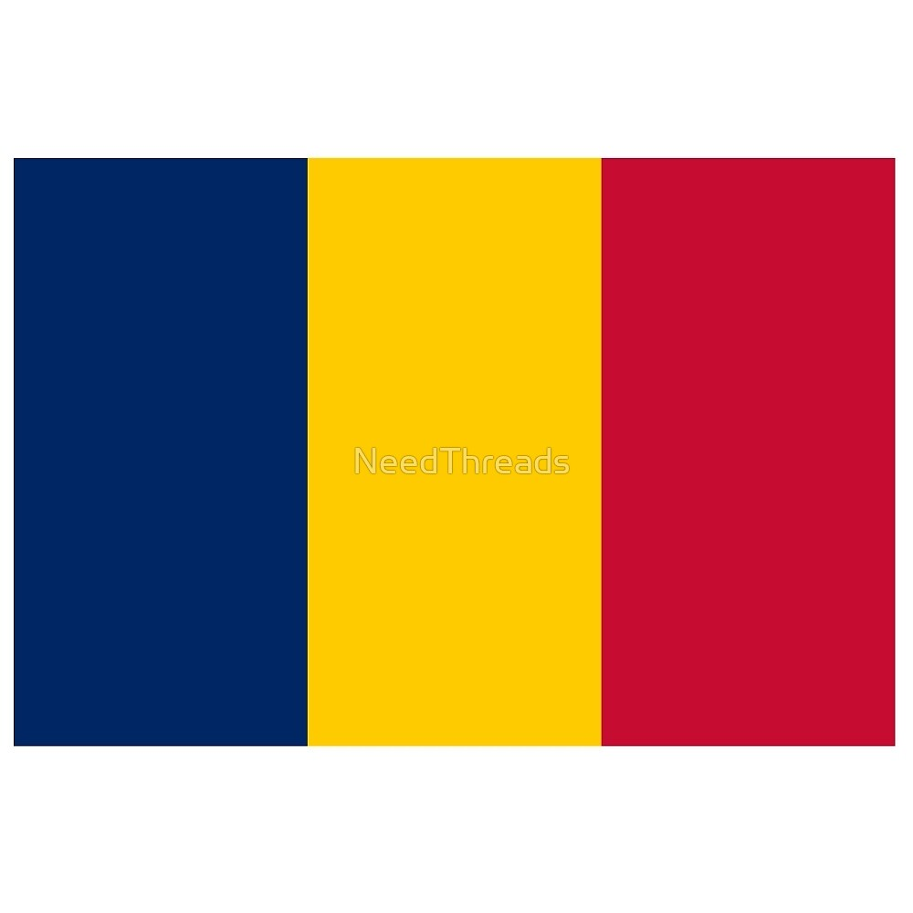 Chad Flag by NeedThreads