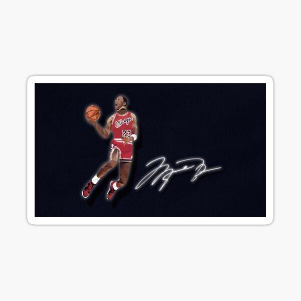Signature Jordan Sticker