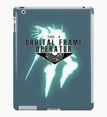 Orbital Frame Operator iPad Case/Skin