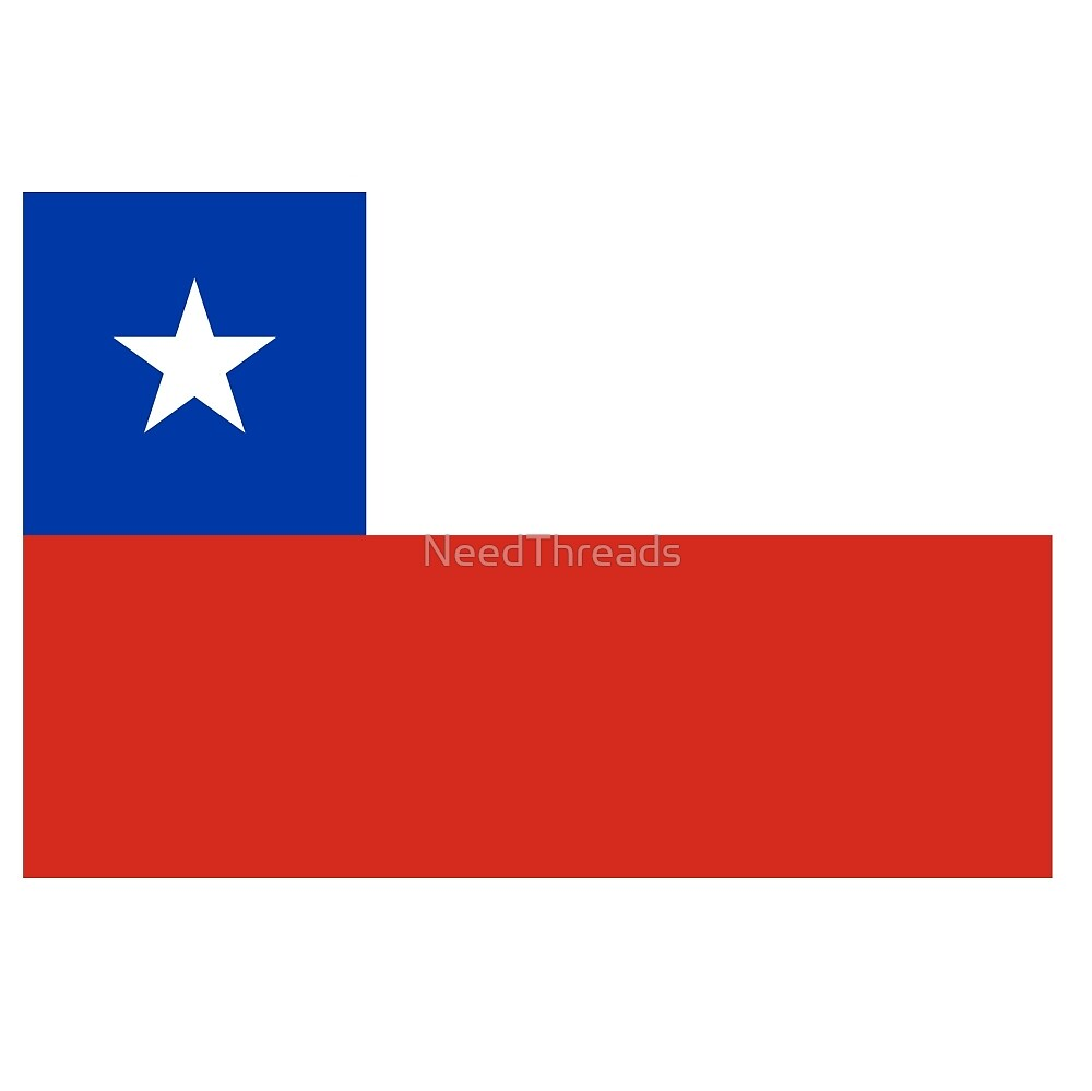 Chile Flag by NeedThreads