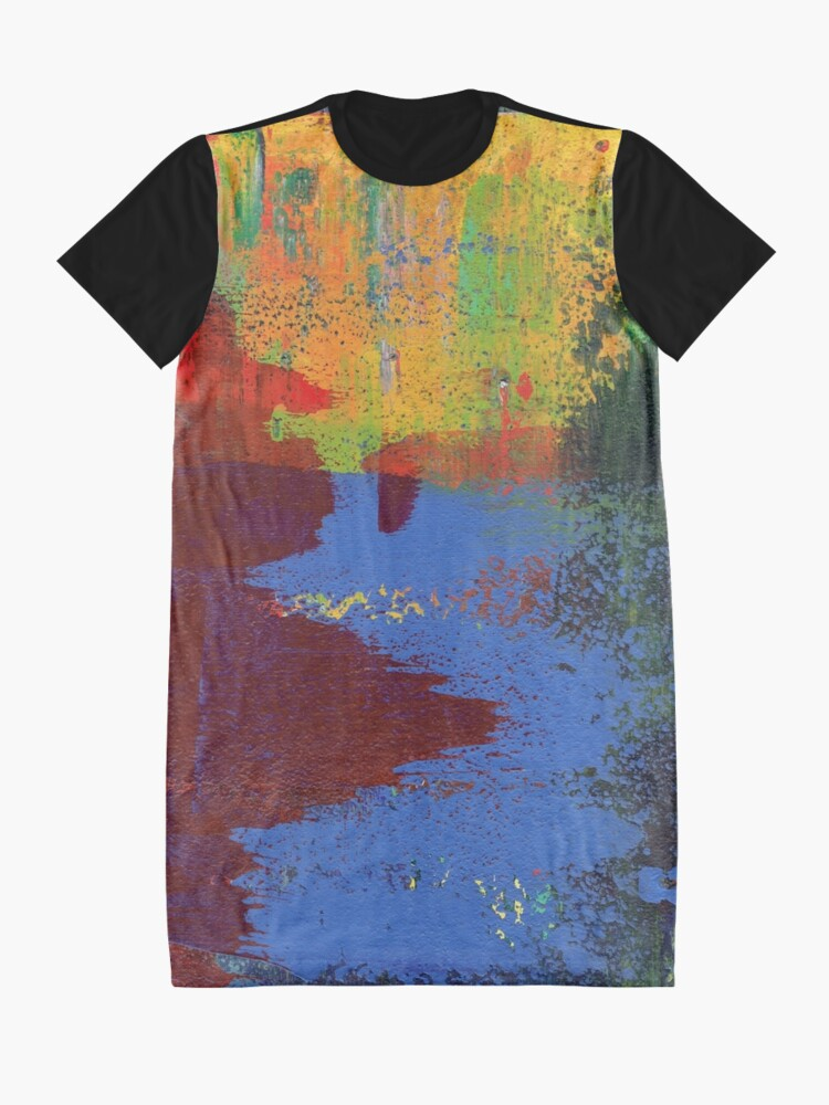 Alternate view of Bold Nuance I Graphic T-Shirt Dress