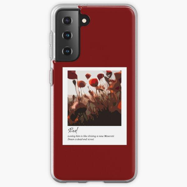 Red - Taylor Swift Samsung Galaxy Soft Case