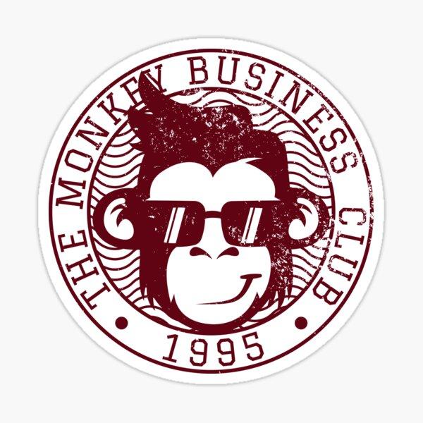 The Monkey Business Club 1995 Sticker