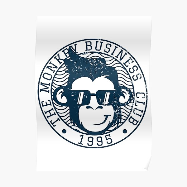 The Monkey Business Club 1995 Poster
