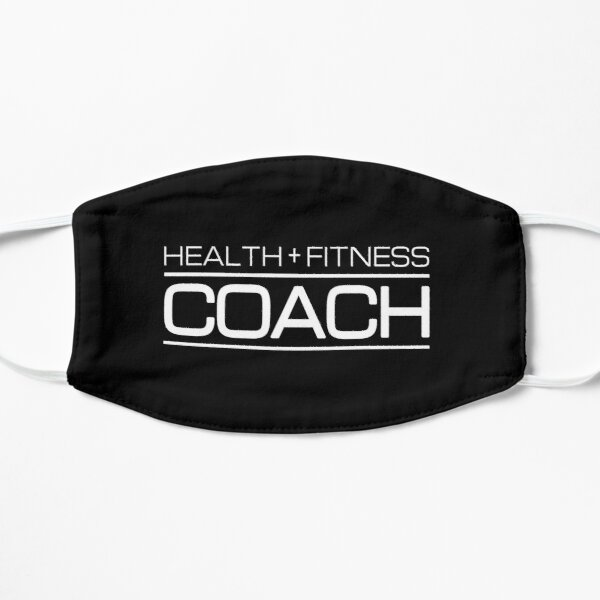 Health + Fitness Coach - Gift for Personal Trainer Mask