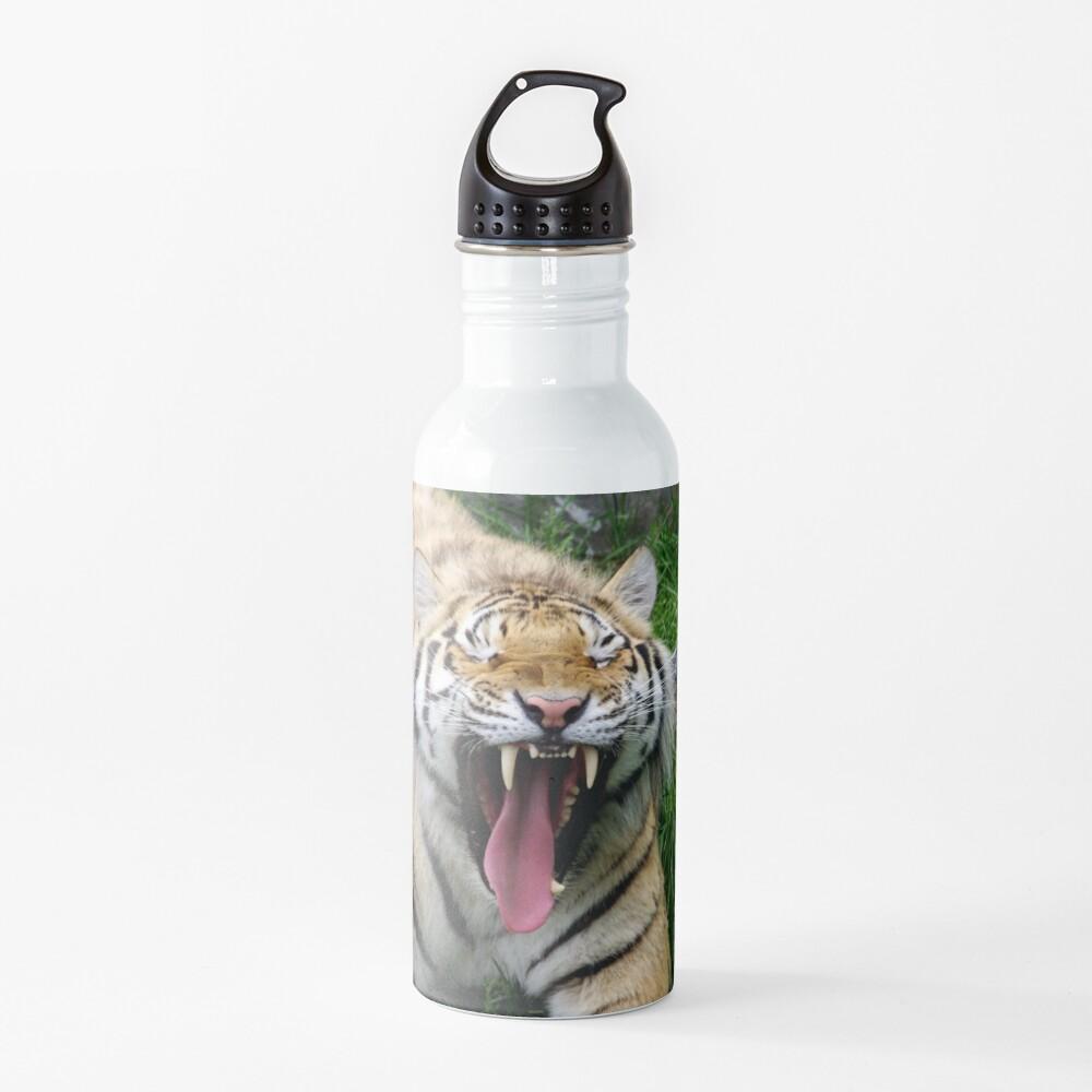 yawning tiger 1 Water Bottle