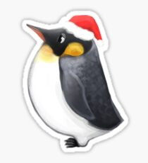 Louie the Christmas Penguin Sticker