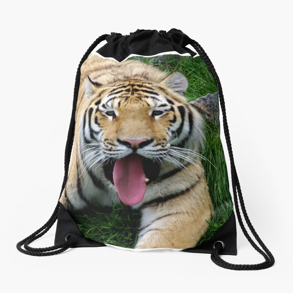 Ahego tiger Drawstring Bag