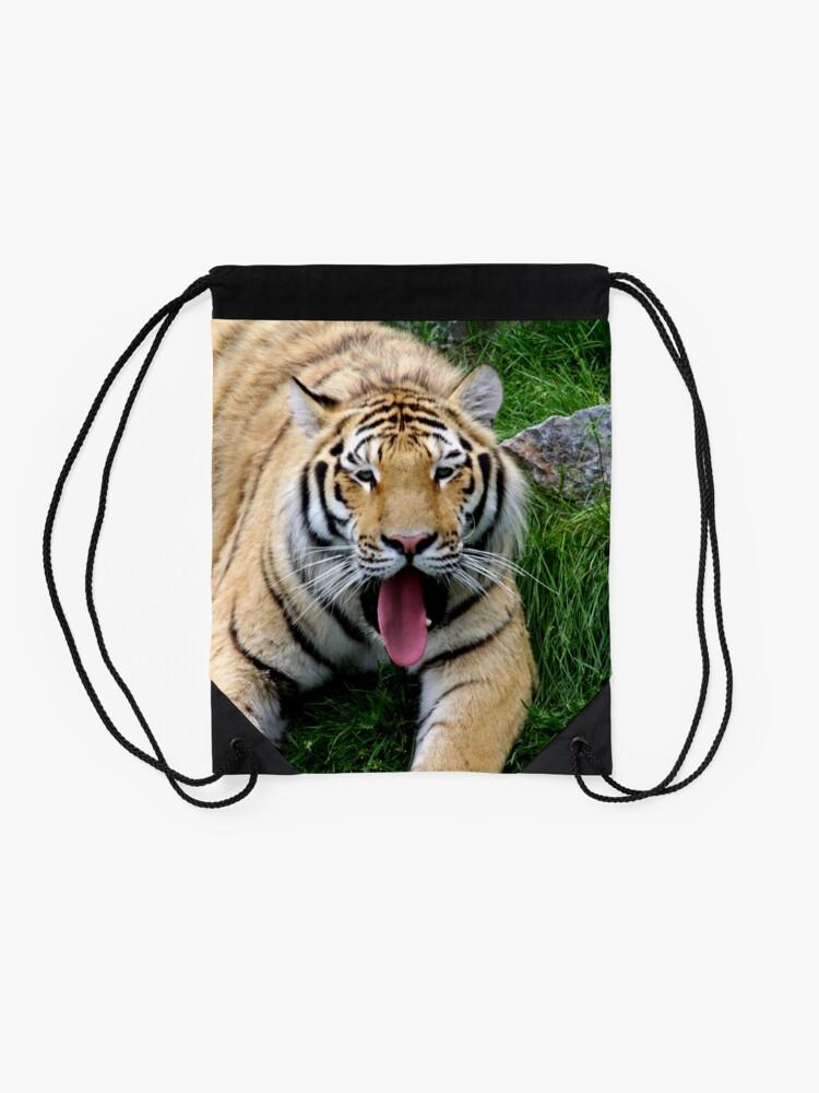Alternate view of Ahego tiger Drawstring Bag