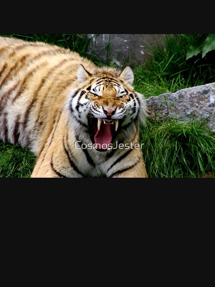 Yawning tiger 2 by CosmosJester
