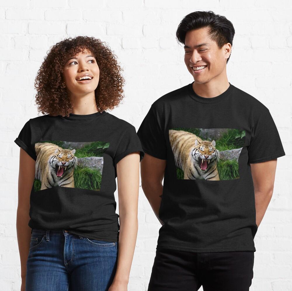 Yawning tiger 2 Classic T-Shirt