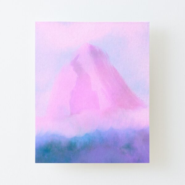 Mons Canvas Mounted Print
