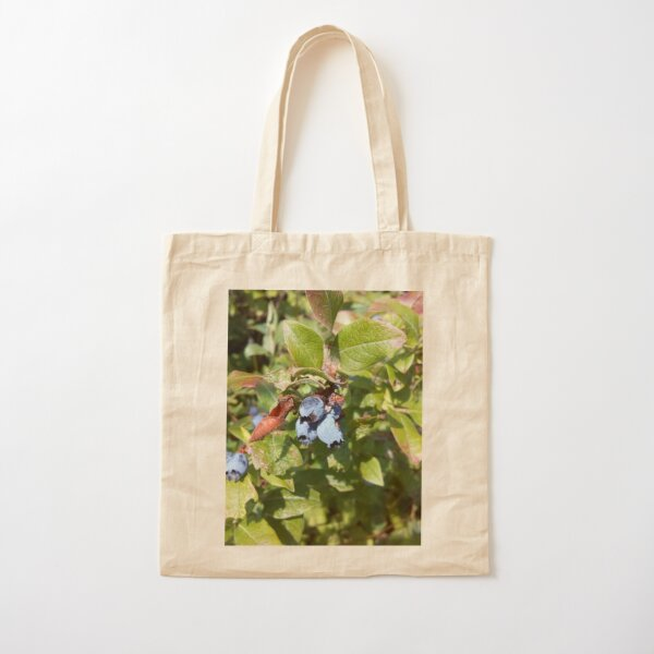 Blueberries past their prime Cotton Tote Bag