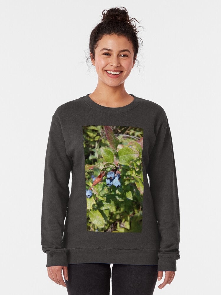 Alternate view of Blueberries past their prime Pullover Sweatshirt