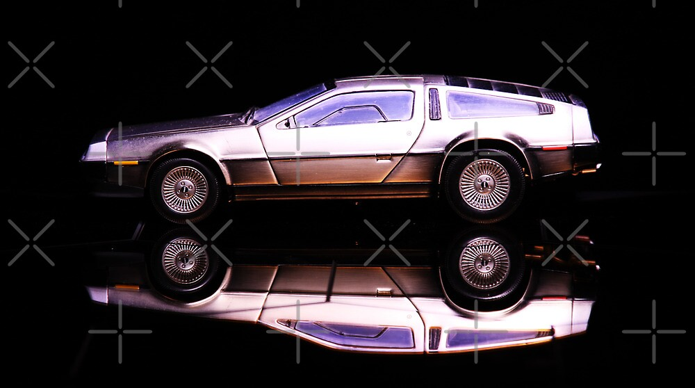The Delorean by Gina  Renehan