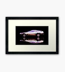 The Delorean Framed Print