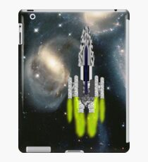 An Interstellar Cruiser Transits Stephan's Quintet iPad/iPhone/iPod/Samsung cases iPad Case/Skin