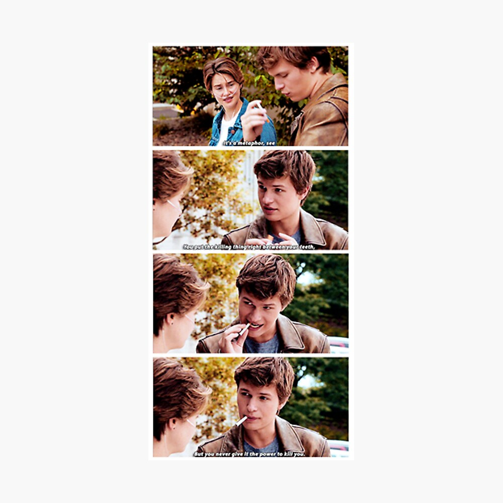 Metaphor scene from The Fault In Our Stars Fotodruck