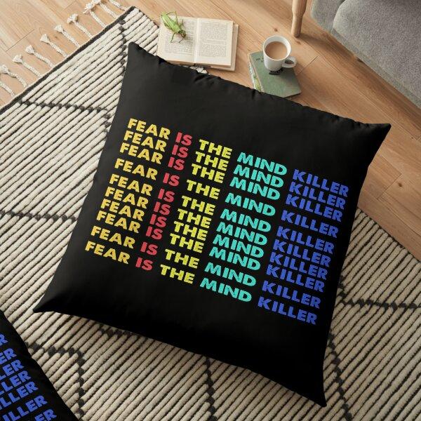Fear is the Mind Killer Vintage Floor Pillow
