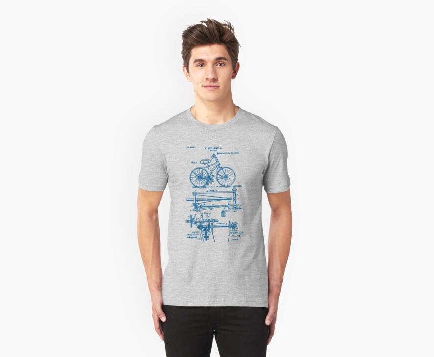 Bike Chainless Drive Bicycle 1891 Stillman by SportsT-Shirts