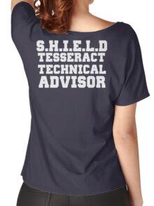S.H.I.E.L.D Tesseract Technical Advisor Women's Relaxed Fit T-Shirt