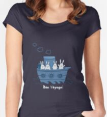 Bon Voyage! Women's Fitted Scoop T-Shirt