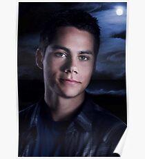 Póster Póster de lobo adolescente Stiles
