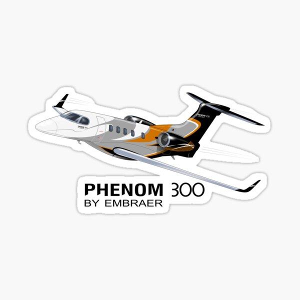 Phenom 300 House Colours Sticker