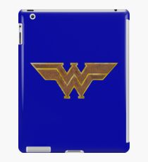 Western Woman Super Hero iPad Case/Skin