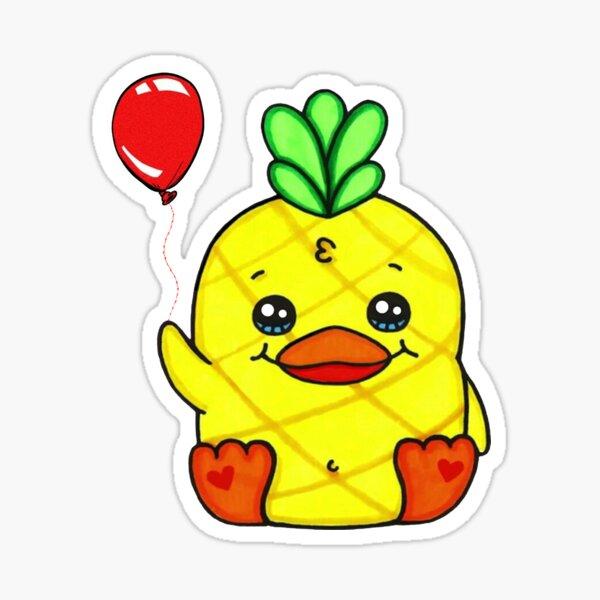 Georgie - Moriah Elizabeth Pineapple Duck Sticker