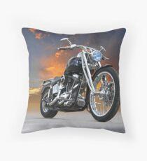 Harley-Davidson Softail Custom Throw Pillow