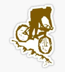 Bike Cycling Bicycle Abstract Sticker